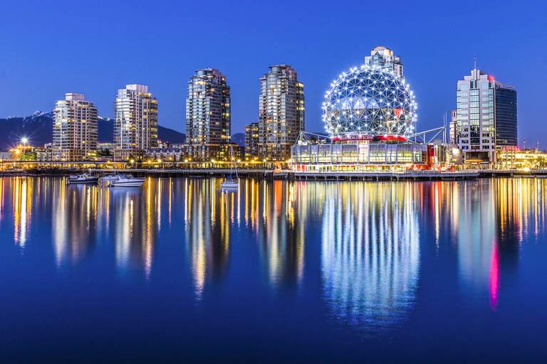 Aurora Boreal em Yukon com Vancouver