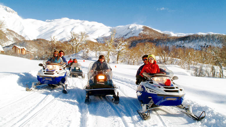 Ski em Chillán