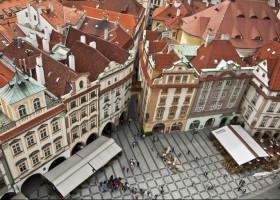 Mercados de Natal do Leste Europeu em Trem